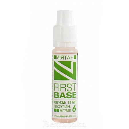 Мята | FIRST BASE - Pink Fury (0 мг | 15 мл)