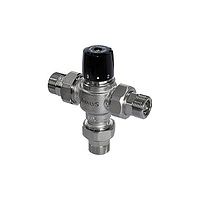 "Термосмесительный клапан BRV 1""M, 35-65C, Kv 4,5 m3/h, with check valves and filters"