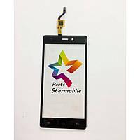 Сенсор (тачскрин) для мобильного телефона Doogee X5, черный