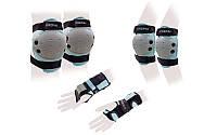 Защита спорт. наколенники, налокот., перчатки детская KEPAI LP-372 (р-р M-8-12лет, синяя)