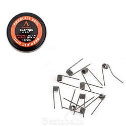 Готовая спираль Clapton Coil - Rofvape (0,85 Ом)