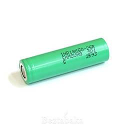 Аккумулятор 18650 Samsung INR - 25R 2500mAh (35A) (Оригинал) высокотоковый (для боксмодов / мехмодов)