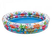 Детский надувной бассейн «Аквариум»   «Intex»