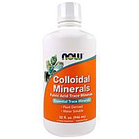 Now Foods, Коллоидные минералы, США (946 мл)