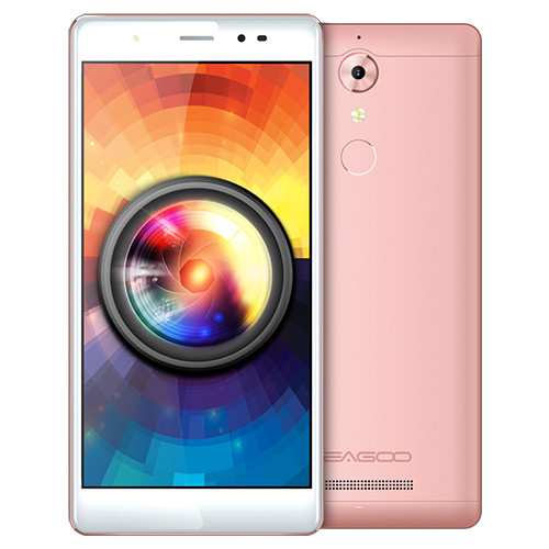 "Смартфон Leagoo T1 PLUS 3/16Gb Gold, Pink, 2sim, 13/13Мп, 5.5"" IPS, GPS, 2650mAh, 4G, 4 ядра"