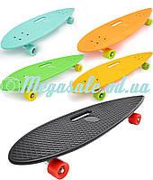 Скейт/скейт пенни борд penny longboard 36 дюймов: 5 цветов