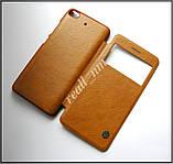 Коричневый чехол книжка для Xiaomi Mi5s, чехол Nillkin QIN Leather эко кожа, фото 4