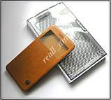 Коричневый чехол книжка для Xiaomi Mi5s, чехол Nillkin QIN Leather эко кожа, фото 5