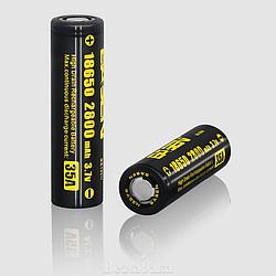 Аккумулятор Basen BS186H 2800 mAh (35 A) высокотоковый (для мехмодов)