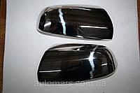 Накладки на зеркала Opel Zafira B (нерж.)