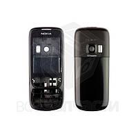 Корпус для мобильных телефонов Nokia 6303, 6303i, High Copy, черный