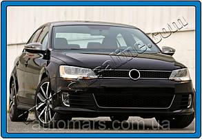 Накладки на зеркала VW Jetta 2011+ (нерж.)