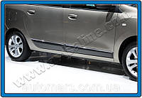 Молдинг дверной (нерж.) Dacia Lodgy 4 штуки