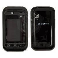 Корпус для мобильного телефона Samsung C3300, high-copy, черный