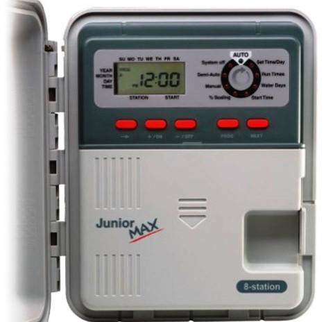 Контроллер Junior Max на 8 зон, питание 220 В, для внутренней установки с внешним трансформатором П