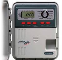 Контроллер Junior Max на 8 зон, питание 220 В, для внутренней установки с внешним трансформатором (пульт управления автоматическим поливом)