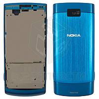 Корпус для мобильного телефона Nokia X3-02, high-copy, синий