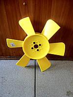 Крыльчатка вентилятора охлаждения Газель, Соболь (6 лопастей)