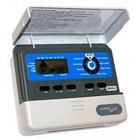 Контроллер Junior Max на 4 зоны, питание 220 В, для внешней установки с встроенным трансформатором (пульт управления автоматическим поливом)