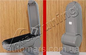 Подлокотник на Пежо 207 (серый)