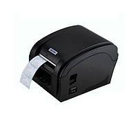 Термопринтеры чеков и этикеток 2в1 Xprinter 360B usb pos принтер для печати чека, ценников, штрих кодов