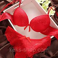 Комплект нижнего белья Красный  80В