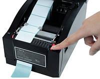 Термопринтеры чеков и этикеток 2в1 Xprinter 350B usb pos принтер для печати чека, ценников, штрих кодов