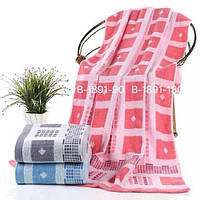 Банное махровое полотенце 140х70