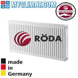 Радиатор стальной Roda 11 тип 500x500 (413 Bт)