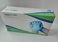 Перчатки нитриловые неопудренные не стерильные Care365 (100 шт), размер S