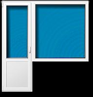 Балконный блок металлопластиковый STEKO
