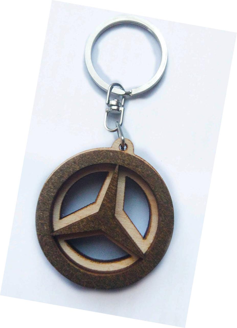 Брелок деревянный Mercrdes-Benz