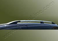 Хром рейлинги на крышу Volkswagen Touareg 2010+ (стальное крепление)