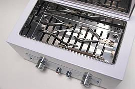 СЕРТИФІКОВАНИЙ стерилізатор манікюрних інструментів Мікростоп М1, Україна, фото 2