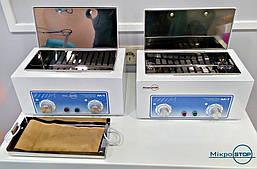 СЕРТИФІКОВАНИЙ стерилізатор манікюрних інструментів Мікростоп М1, Україна, фото 3