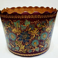 Бумажная форма для выпечки Пасхи, итальянская бумага (11х8.5см)