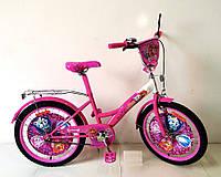 Велосипед 2-х колесный 20 дюймов 172027 со звонком,зеркалом,руч.тормоз,без доп.колес