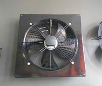 Вентилятор осевой Fluger 350 осьовий, настінний в рамі