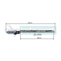Пилочка для электролобзика WHIRL POWER T101AO 83 мм