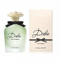 Женская туалетная вода Dolce & Gabbana Dolce Floral Drops  75 ml.  ( TESTER ) LUX -Лицензия