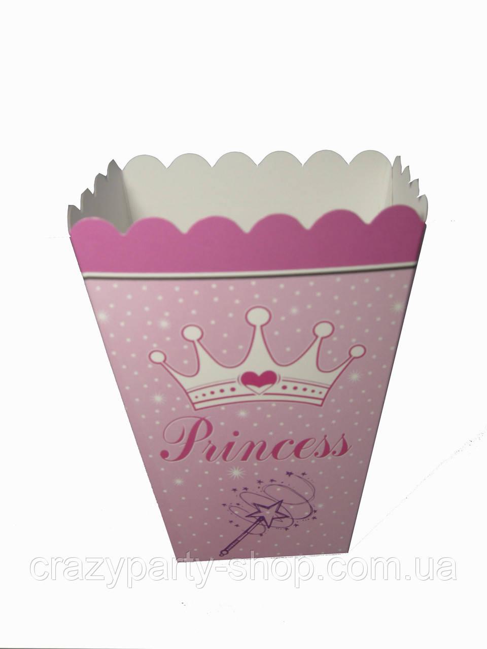 Коробочка для попкорна Корона Принцессы