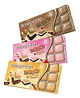 Молочно-белый шоколад Schogetten Fruit Trilogia (фруктовый вкус) 100г.