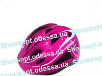Детский защитный шлем Розовый с регулировкой размера