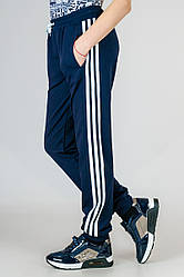 Детские спортивные штаны для мальчиков трикотажные брюки на резинке (манжет) Украина