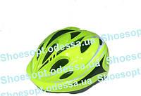 Детский защитный шлем Салатовый с регулировкой размера