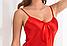 Ночная сорочка из cатина в красном цвете.Irall Ариа (Польша), фото 2