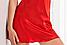 Ночная сорочка из cатина в красном цвете.Irall Ариа (Польша), фото 3