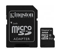 Карта памяти 32 GB microSD Kingston UHS-I G2 Class10 (SDC10G2/32GB).