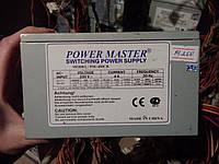 Блок питания POWER MASTER 400W 120FAN не рабочий
