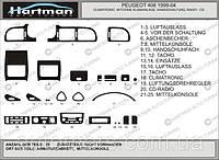 Красивый тюнинг салона Peugeot 406